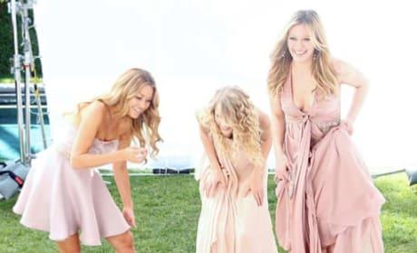 Lauren Conrad, Taylor Swift, Hilary Duff