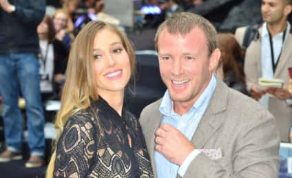 Jacqui Ainsley and Guy Ritchie: Engaged!