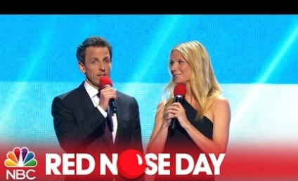 Watch British Stars Do Menial Jobs for Red Nose Day