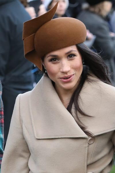 Meghan Markle in Beige