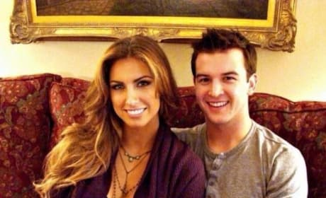 Katherine Webb and A.J. McCarron