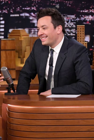 Jimmy Fallon on the Show