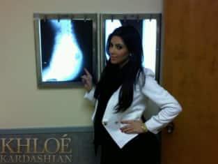 Kim Kardashian Butt X-Ray