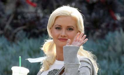 Criss Angel Sort of Proposes to Holly Madison