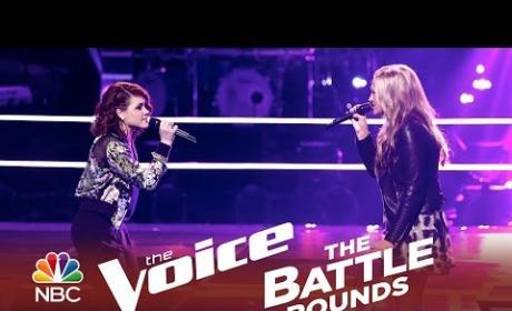 Kensington Moore vs. Reagan James (The Voice Battle Round)