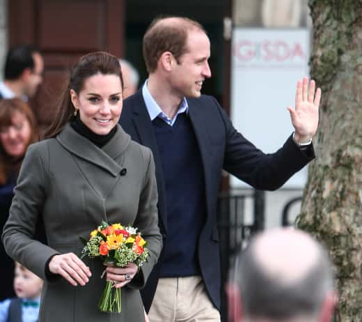 Kate Middleton and Prince William in Caernarfon