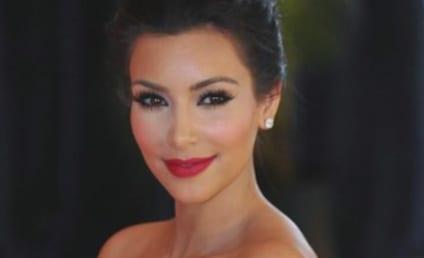 Kim Kardashian Wedding Dress, Butt Photos: They're Fake!