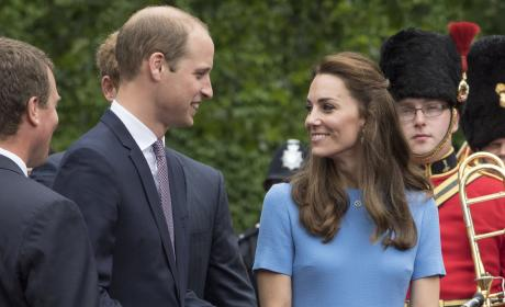 Prince William and Kate Middleton Attend The Patron's Lunch