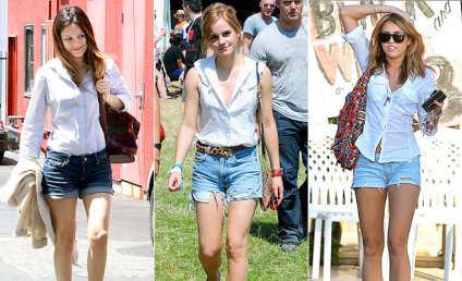 Rachel vs. Emma vs. Miley: Who Wears It Best?