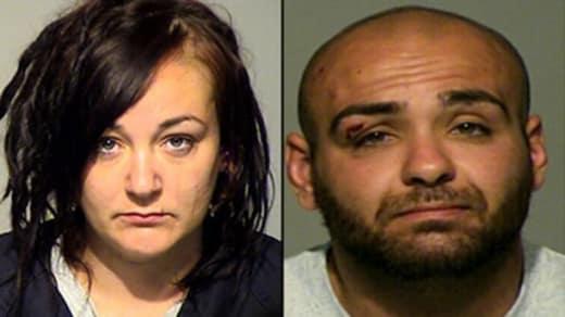 married arrest couple