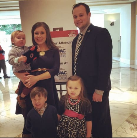 Josh, Anna Duggar and Family