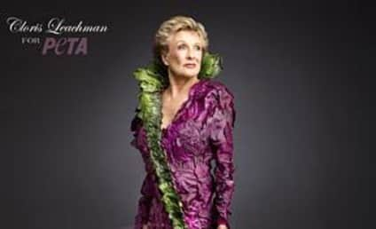 Cloris Leachman: Sort of Nude For PETA