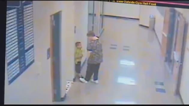 barb williams  ohio kindergarten teacher  slams student