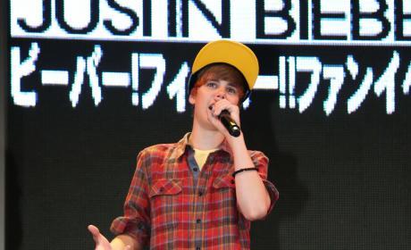 Justin in Japan