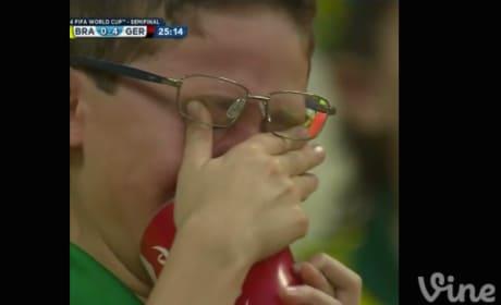 Sad Brazil Fan