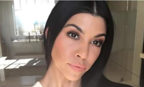 Kourtney Kardashian Nose Job Image