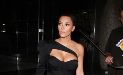 Celebrity Fashion Police Pull Over Kim Kardashian, Issue Ticket for Ridiculous Dress