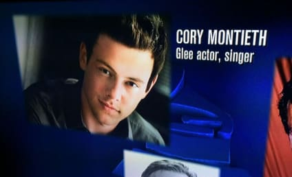 Cory Monteith Name Misspelled in 2014 Grammys Tribute