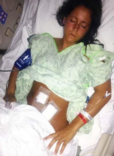 Jenelle Evans Hospitalized