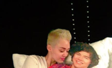 Miley Cyrus and Fake Harry Styles