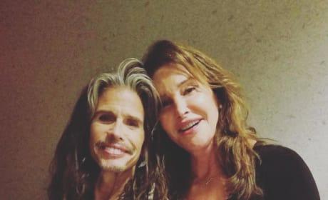 Caitlyn Jenner and Steven Tyler