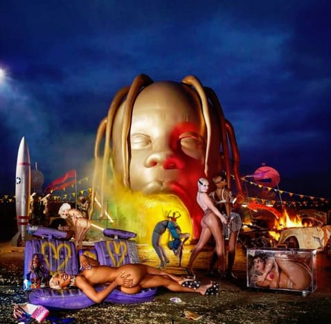 Travis Scott album cover variant