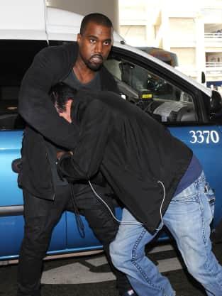 Kanye West vs. Photographer