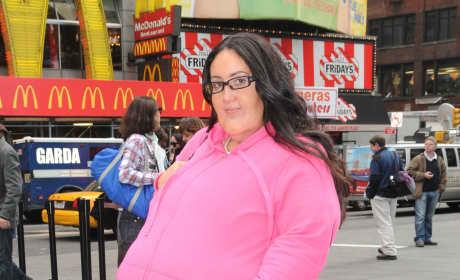 Melissa Gorga in a Fat Suit