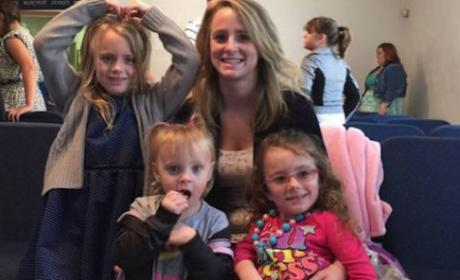 Leah Messer and Her Children