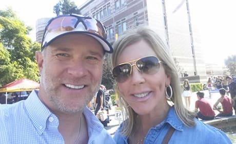 Vicki Gunvalson and Brooks Ayers Snap