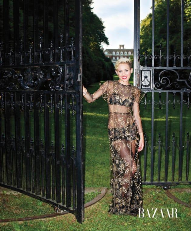 Miley Cyrus in Harper's Bazaar