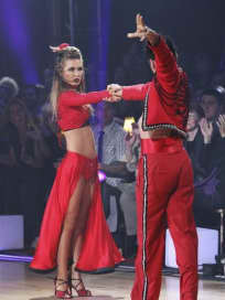 Audrina and Tony Picture
