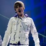 The Biebs on the Stage