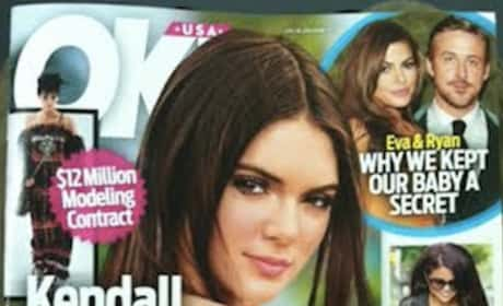 Kendall Jenner Tabloid Kover
