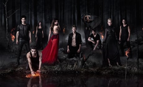 The Vampire Diaries Cast Photo