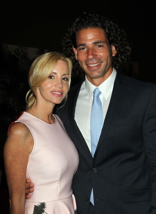 Dimitri Charalambopoulos with Camille Grammer