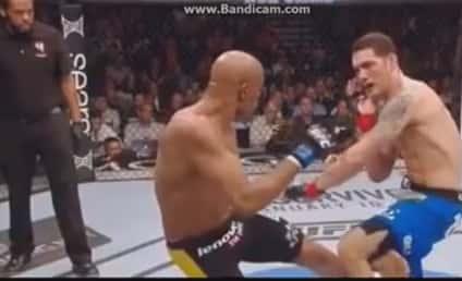 Anderson Silva Breaks Leg in UFC Title Match: Look Away Now!