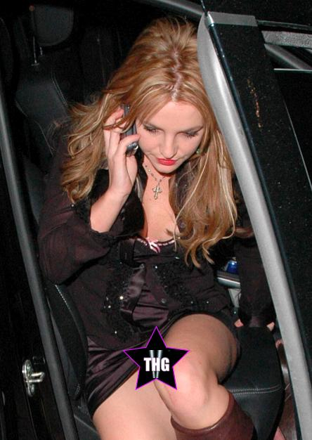 Sex britney spears shows pussy getting out of car women, the first