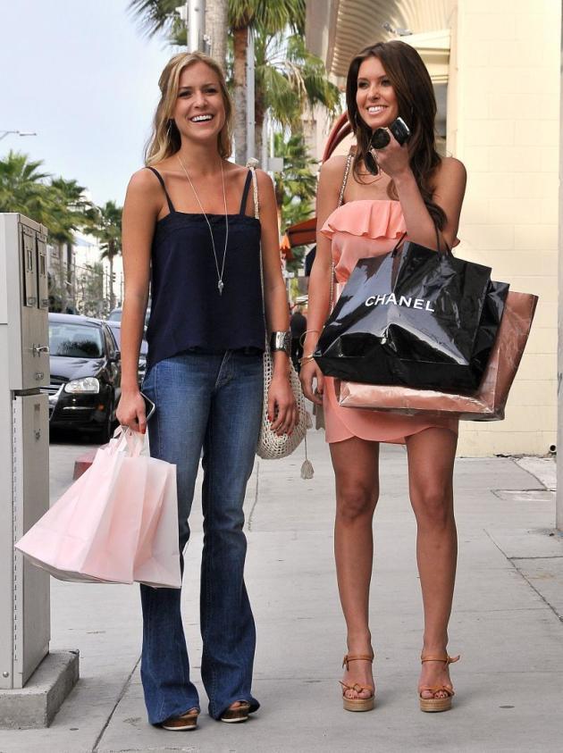 Kristin and Audrina