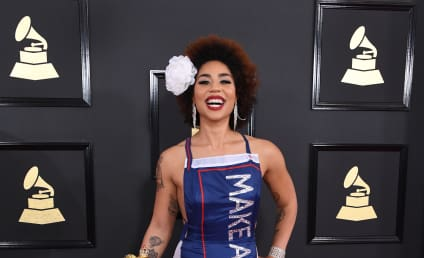 Joy Villa at the Grammys: Make America Great Again!