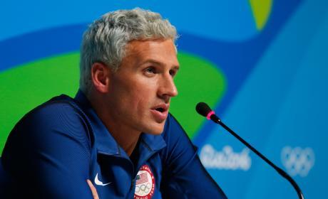 Ryan Lochte Rio Olympics Photo