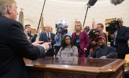 14 Things Kanye Actually Said Inside the Oval Office