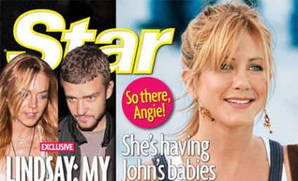 Bogus Angelina Jolie Gossip of the Week: Brad Pitt Bangs Jennifer Aniston Look-Alike!