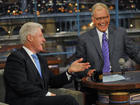 Clinton and Letterman