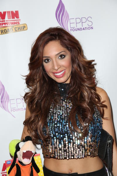 Farrah Abraham: 'Alvin and the Chipmunks' Premiere