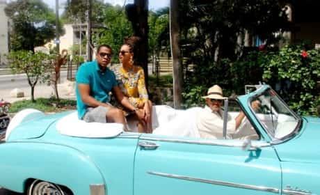 Beyonce, Jay-Z in Cuba Photo