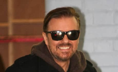 Ricky Gervais in London