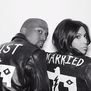 Kim Kardashian and Kanye West: Just Married!