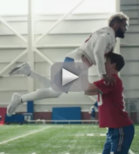 Eli manning and odell beckham jr win super bowl with dirty danci