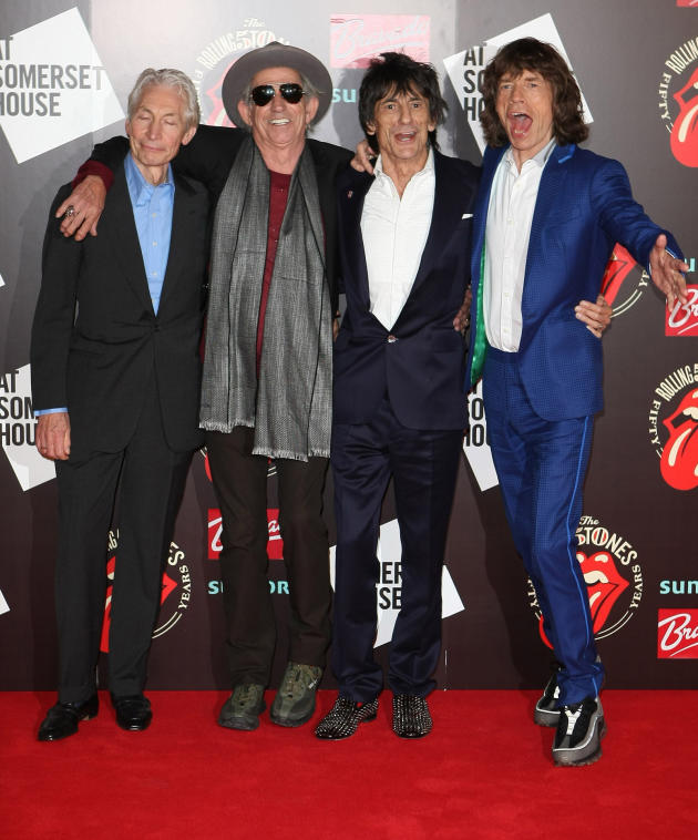 The Rolling Stones Anniversary Photo